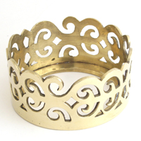 "6"" PILLAR RING - 2 pcs set"