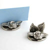 NICKEL ROSE PLACE CARD - 6 pcs set