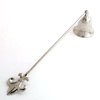 NICKEL CANDLE SNUFFER - 4 pcs set