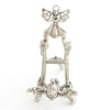 NICKEL SMALL ANGEL EASEL - 4 pcs set