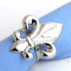 NICKEL NAPKIN RING - 4 pcs set