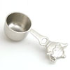 NICKEL TEAPOT SCOOPER - 3 pcs set