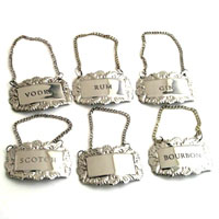 NICKEL BOTTLE EMBLEM - 6 pcs set