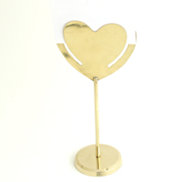 HEART CARD HOLDER - 6 pcs set