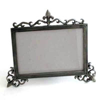 BRUSHED NICKEL FRAME - 2 pcs set