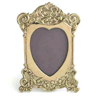 FRAME WITH HEART - 4 pcs set