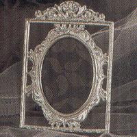 SILVER FRAME - 2 pcs set