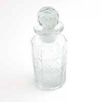 "6 1/4""H CLEAR BOTTLE"